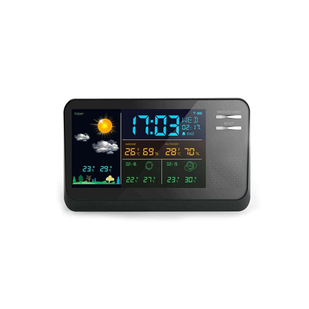 Best electronic professional meteorological precision home weather station/acurite live indoor desktop clock weather