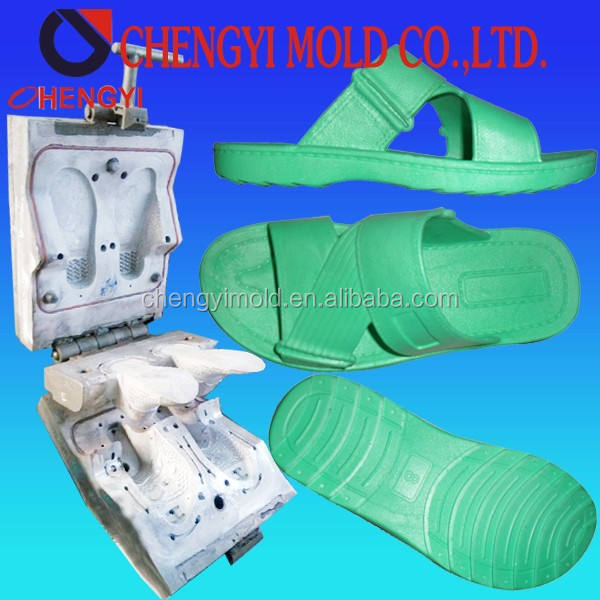 full-auto injection molding machine for leather casting slipper pcu plastic mold last