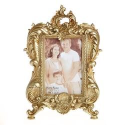 New Design European Carving Style of Resin Gold  Frame for H