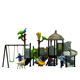 Children wooden playsets swing set outdoor climbing equipment for toddlers