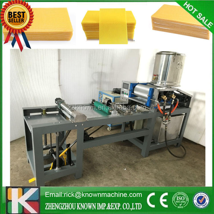 Bees Wax Foundation Sheet Mold Casting Machine With Fixed Hinge Joint Lid Beeswax Foundation Sheet