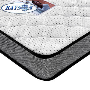 Promotion cheap foshan single bed mattress high quality bonnell spring rolled up mattress