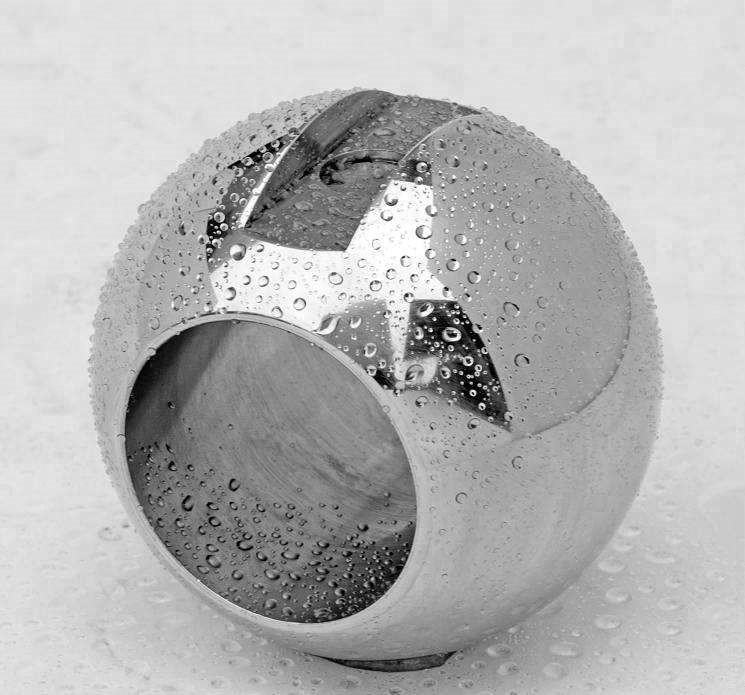 1mm 2mm 3mm 4mm 5mm 6mm 7mm 8mm 9mm 10mm Stainless steel ball with drilled hole