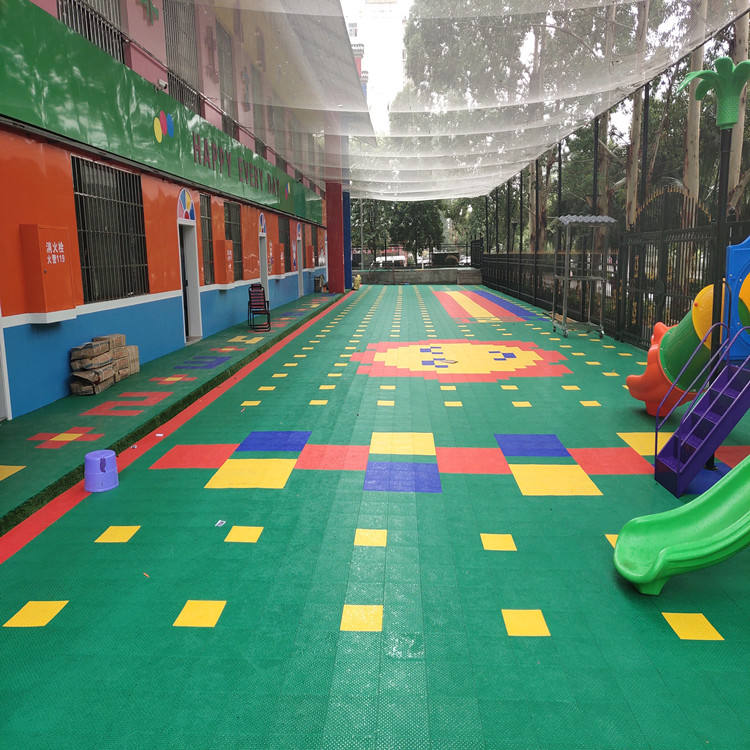 Eco-friendly outdoor party turf protecting plastic floor mat philippines interlocking removable floor carpet price