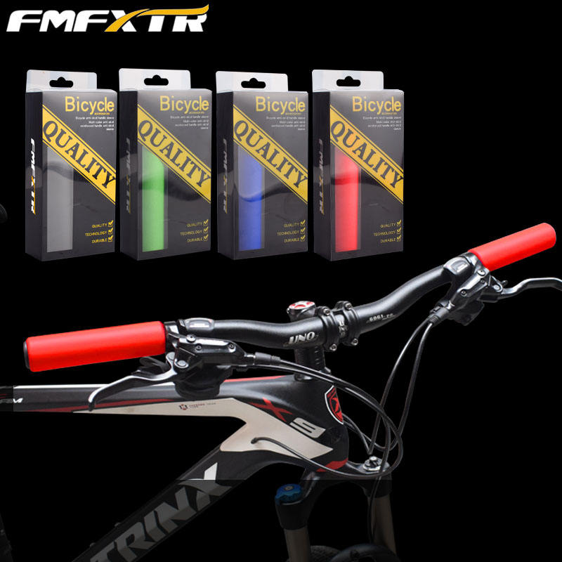 Bicycle Bar Grips Outdoor Mountain Cycling Bike Bicycle Silicone Anti-slip handle