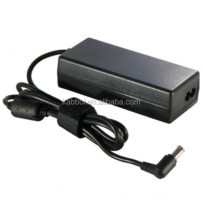 19.5 V 4.7A 90 W mini computador notebook laptop ac carregador Adaptador de Alimentação 6.0*4.4mm com pino no interior para Sony Vaio PCG-FR SERIES