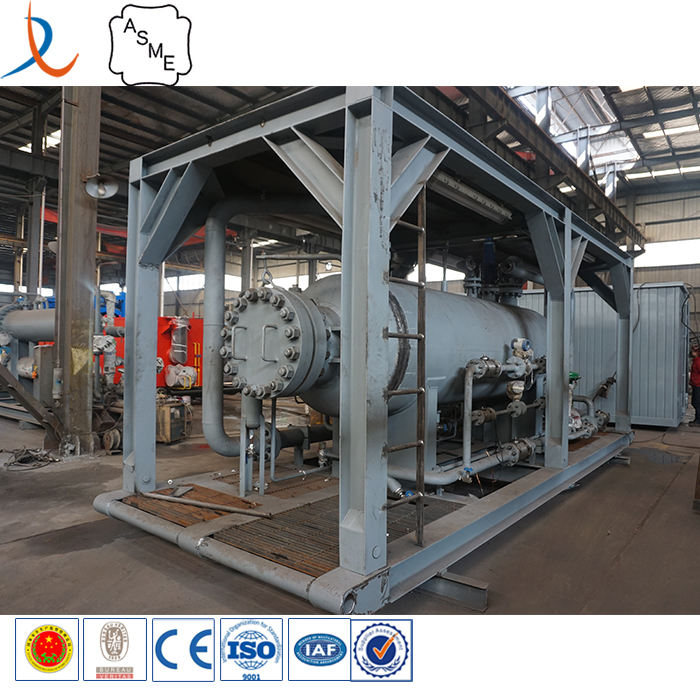 China suppliers OEM product oil gas water three phase separator in oilfield