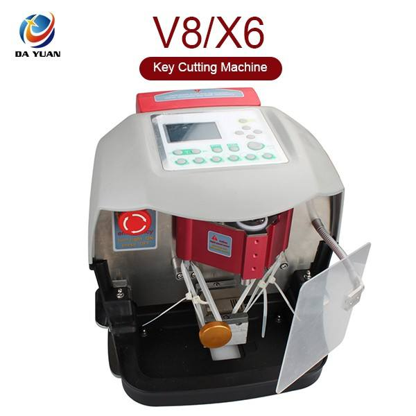 Automatic X6 Key Cutting Machine Key Milling Machine Laser V8/X6 Key Copy/cutting Machines LS04002