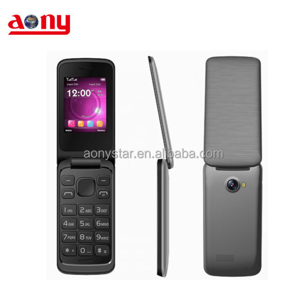 Low price small Chinese flip cellphone similar to BLU Zoey II cell phone