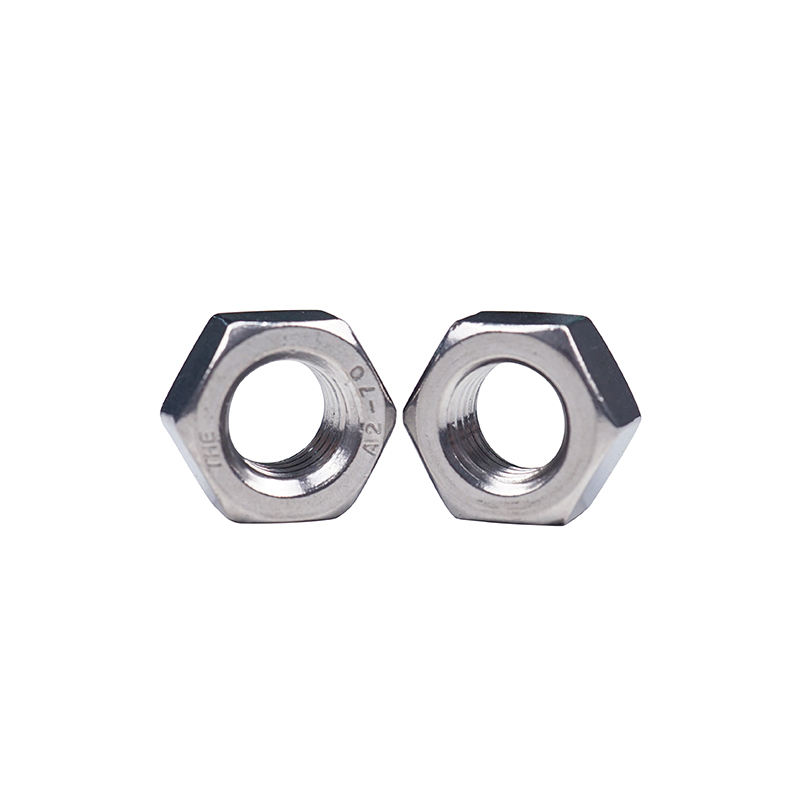 M1.6-M48 Hex Nut, Custom Stainless Steel 304 Hex Nut DIN934 China Bolt and Nut Manufacturer