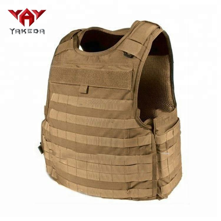 yakeda Ballistic Military Bulletproof Vest with Molle Webbing in stock