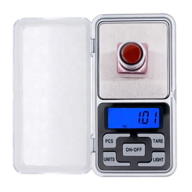 High Precision 500g 0.1g Electronic Weight Scale Digital Pocket Jewelry Diamond weighing Balance with retail box