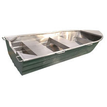 High quality V Shape Welded Flat Bottom Row Small Aluminum Jon Fishing Boat