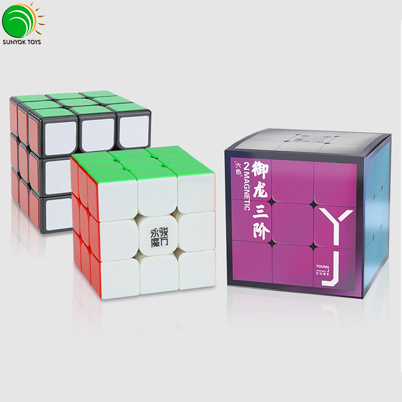 Cost-effective YongJun YJ YuLong V2M 3x3x3 Magnetic Magic Speed Cube Puzzle