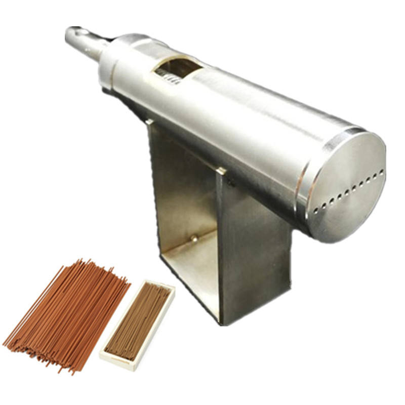 Natural manual hand operate backflow stick incense extruder making machine