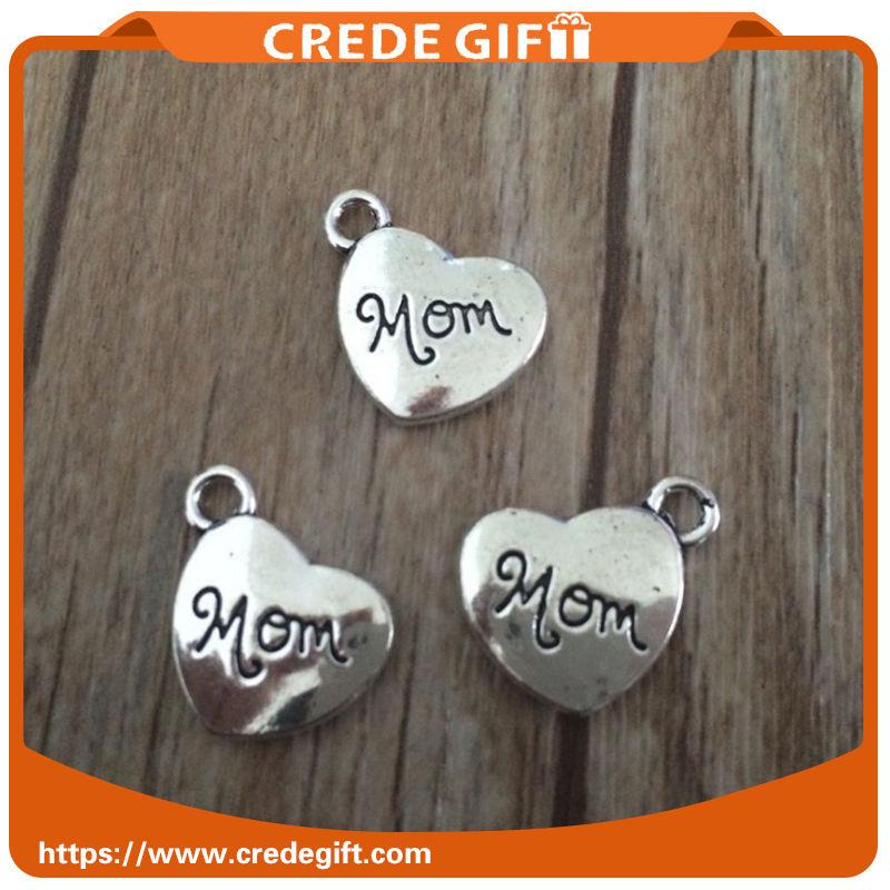 Amour alliage pendentif pour La Fête des Mères bricolage <span class=keywords><strong>artisanat</strong></span> accessoires en gros