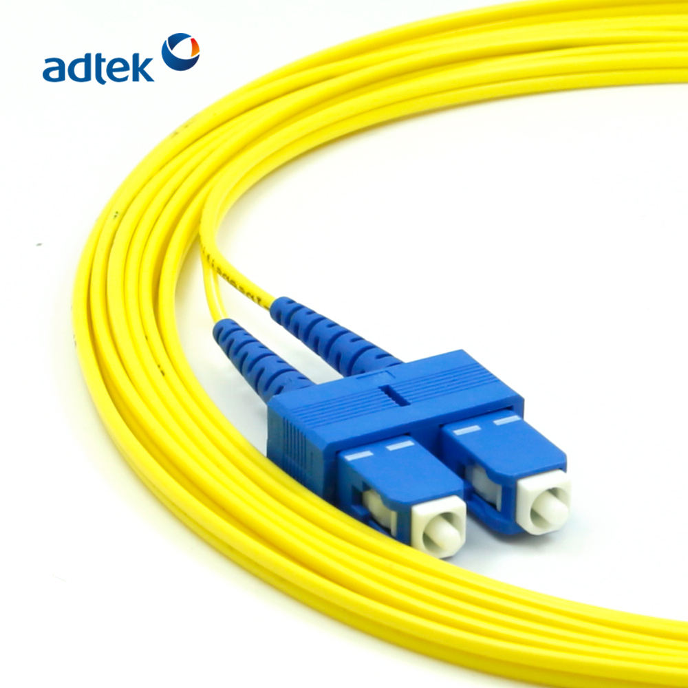 Single Mode Duplex LC To SC Optical Patch Cord Fiber Optic Cable Price