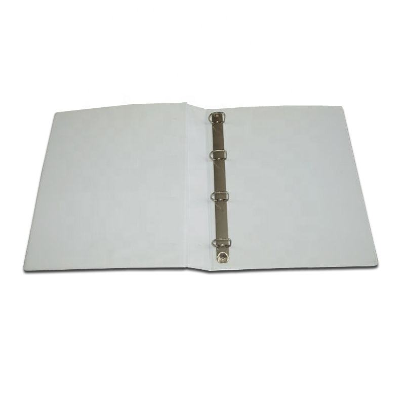 Custom Making High Quality O ring PVC Binder with your company Logo