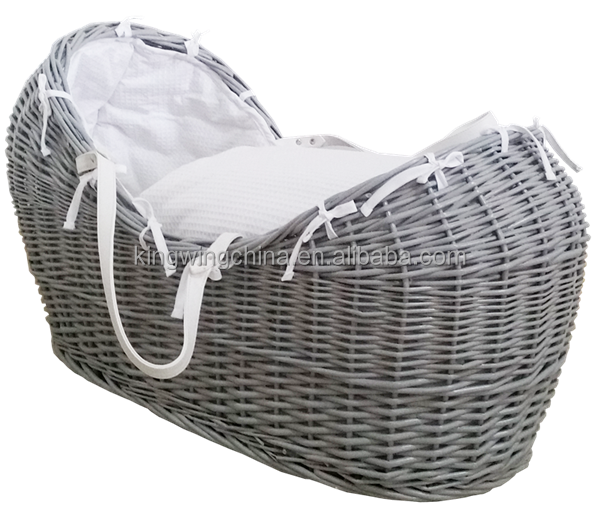 UK Standard EN 1466 Pod Baby wicker basket