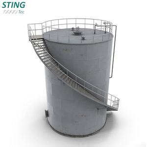 Bulk Heavy Fuel Edible Vertical Stainless Steel Oil Storage Tank Price For Sale