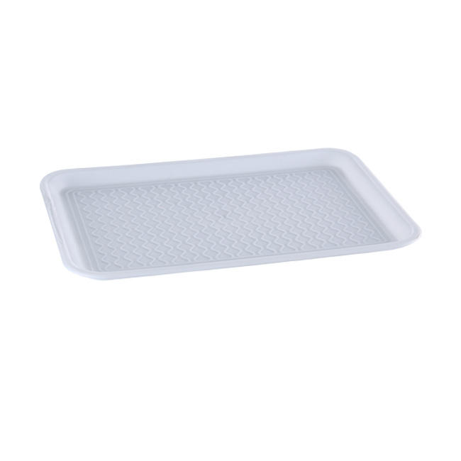 Plastic fast food serving trays,Flower artwork home decoration tray,Rectangular kitchen tray