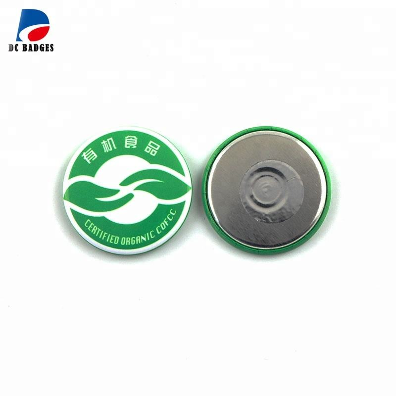 Button Magnetic Components of 44mm Tin Badge