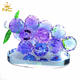 Wholesale Clear Crystal Glass Grape For Crystal Ornament Wedding Decoration Gift