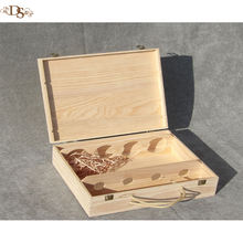 Wholesale Wine Packaging Cheap Wooden Gift Box