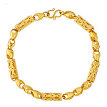 XL7018 xuping fashion dubai gold jewelry beads bracelet for men
