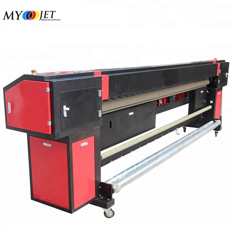 Digitale 10 voeten myjet pvc flex banner drukmachine grootformaat printer in china