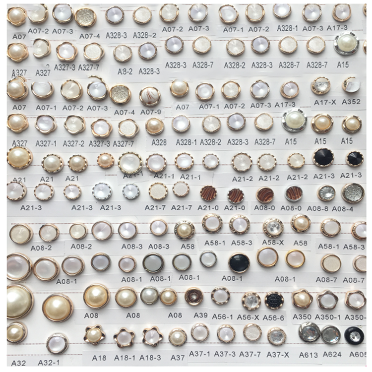 2020 whoelace abs beaded buttons sew on shirt rhinestone fancy plastic buttons