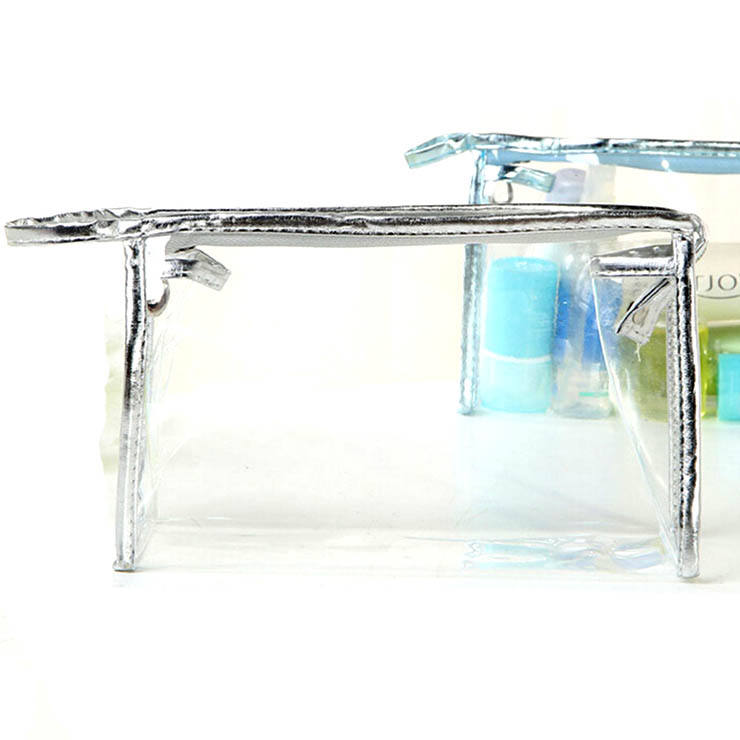 Mode Duurzaam Fabricage Clear Make-Up Tas Pvc Mini Transparante Cosmetische Tas