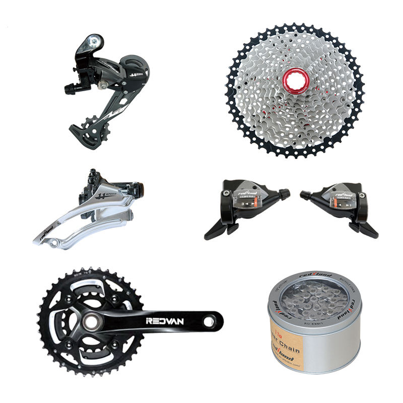 bicycle derailleur group Mountain Bikes 11speed groupset MTB Front/Rear derailleur wholesale bicycle parts