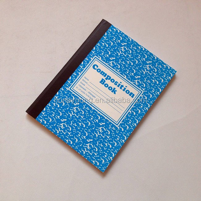 school supply best selling beautiful cover designs school composition book