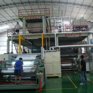 SMS Machine Spunbond Meltblown Non Woven Machinery Fabric Making Machine For Baby diaper hygiene fabric