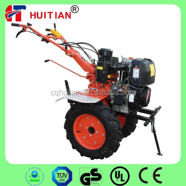 Huitian 12HP Powerful Diesel Farm Machinery with Real KAMA Engine