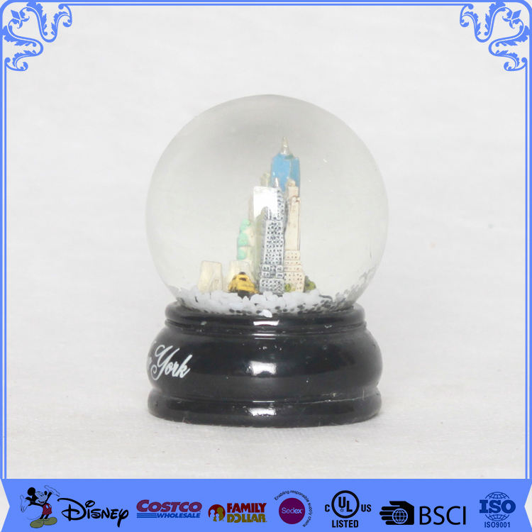 Building [ Globe Water ] Customized 45mm Souvenirs Snow Globe New York City Water Globe
