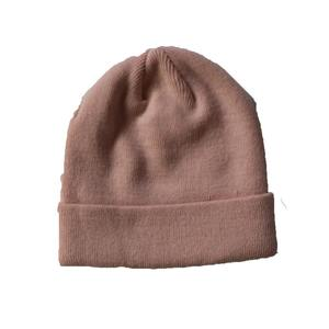 Custom solid pink color simple baggy 겨울 hats 비니 외 대 한