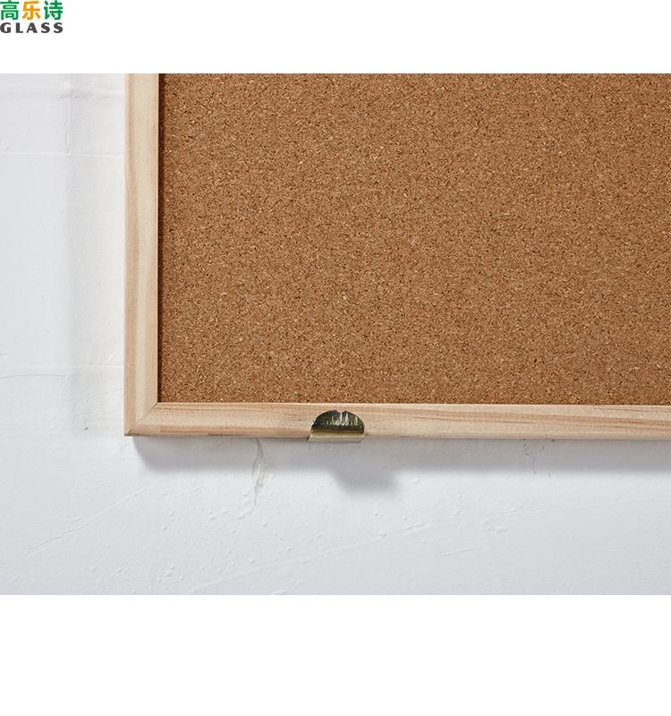 Black Cork Board Wooden Frame Cork Board Notice Pin Black Notice Board