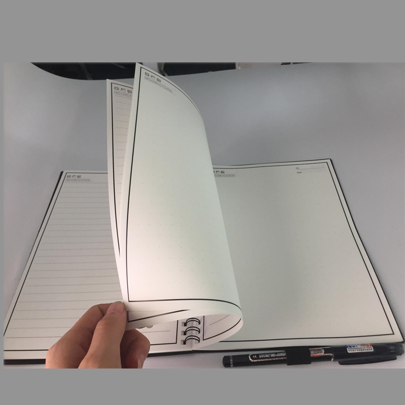 Custom Logo Blank Paper 50/80 Sheets Wet Erasable Reusable Writing Smart Notebook
