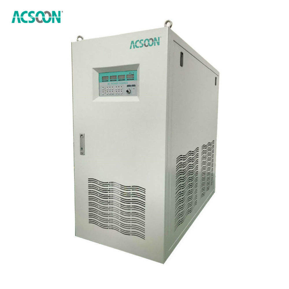 Various voltage 80kva 400Hz static frequency converter inverter AC power supply for testing aviation electronics and equipment