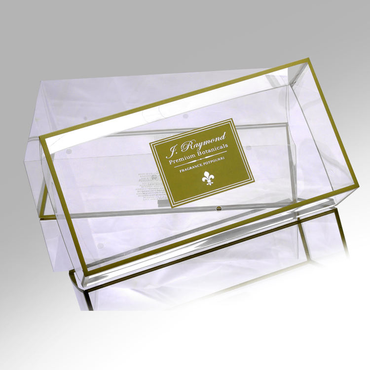Clear Acetate Plastic Folding Packaging Box Manufacturer