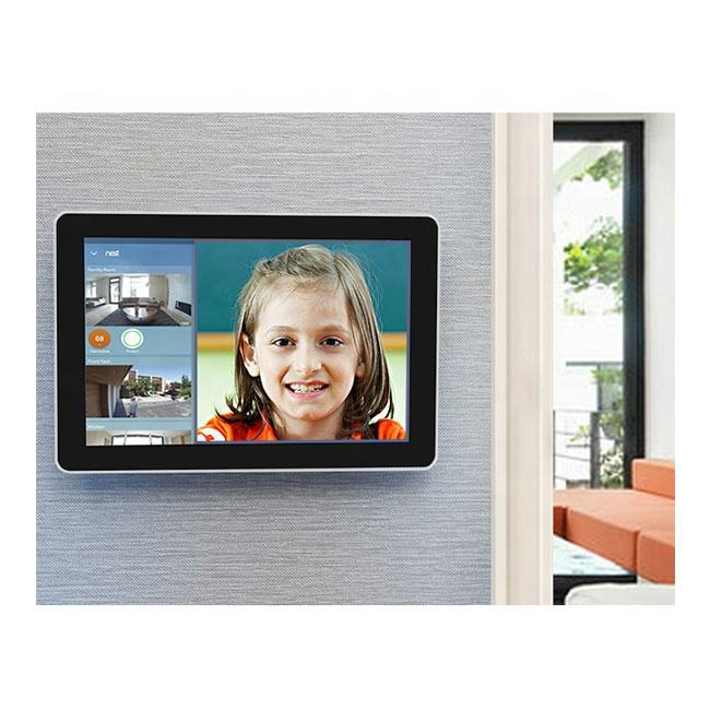 OEM Smart Home Wall Mount Android แท็บเล็ต POE,10 นิ้ว Android Tablet PC All In One Touchscreen