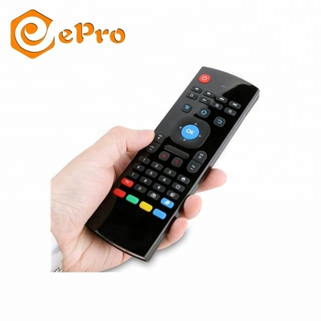 MX3 air mouse with backlit 2.4G wireless keyboard Universal remote control for tv box computer mini pc TV air mouse MX3pro i8