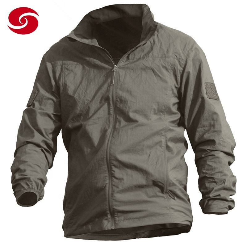 Breathable Waterproof Sun Protection Clothing Mens Coat