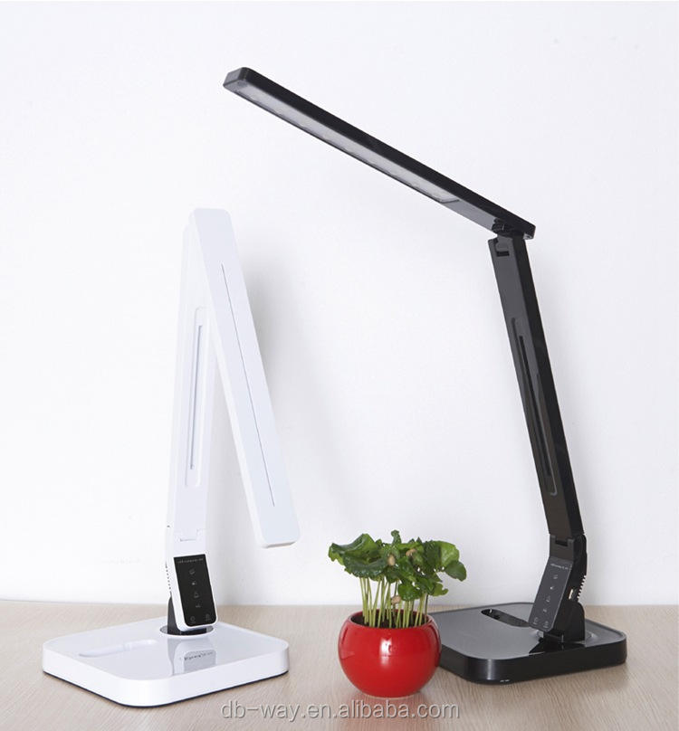 DB-Way 2016 New Style Latest Products Rechargeable Reading Lamp 5 CCT Options 9 Steps Dimming Portable Folding Led Touch Lamp