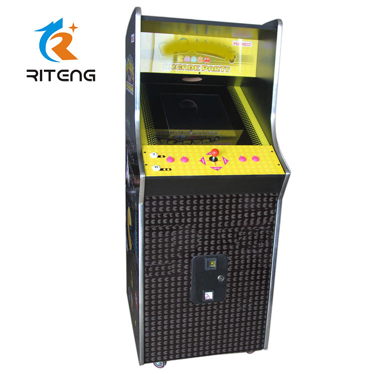 Nuovo stile 26 pollice coin operated giochi arcade upright the king of fighter MS pacman 2002 magic