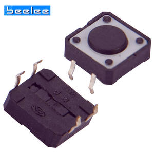 2019 Hot sales dongguan factory mini size 12x12 smd tact switch