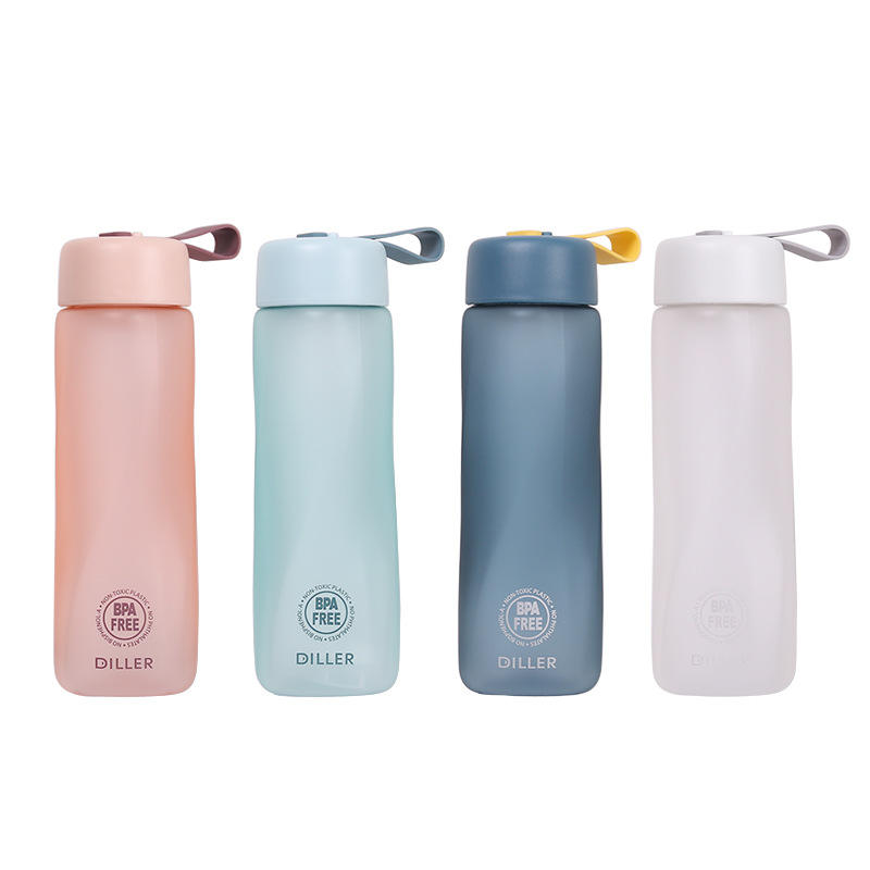 New Outdoor BPA Free Frosted Sports Tritan Plastic Water Bottle