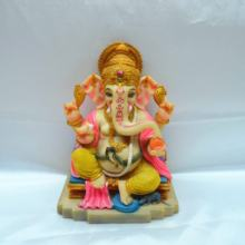 Ganpati Poly Marble Idol Hindu God of Success